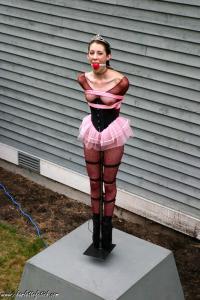 Ballerina bondage fetish